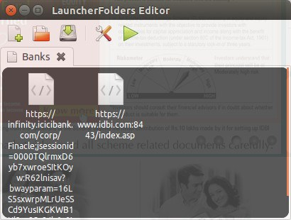 Unity Launcher Folders web-links