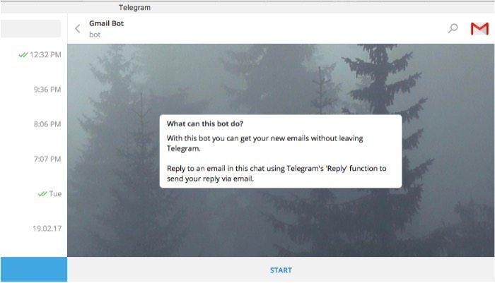 telegram-gmail-mte-start