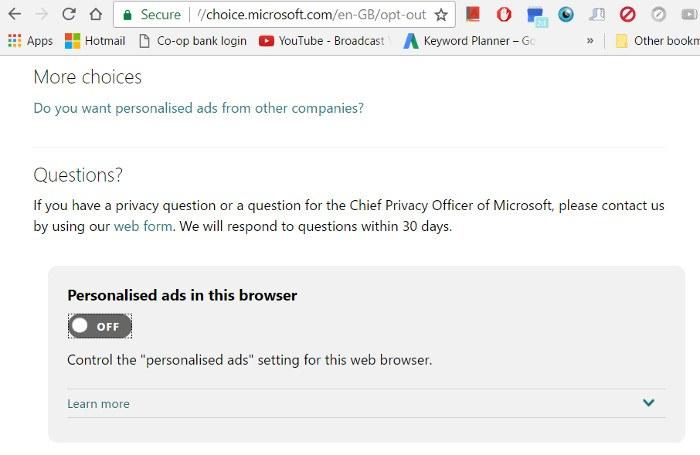 block-windows-10-personalised-ads-browser