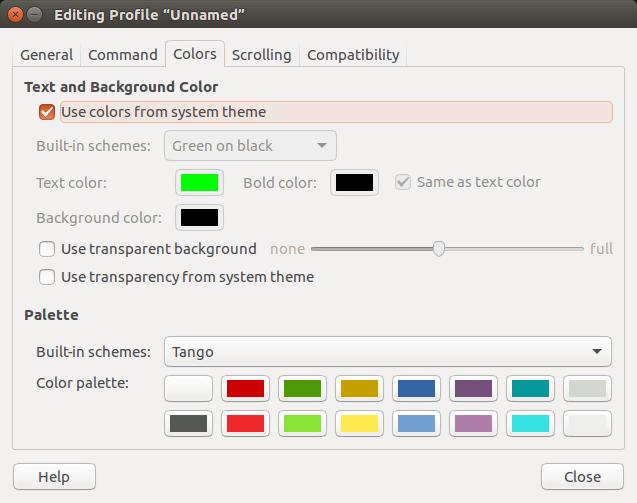 command-line-terminal-edit-preferences-menu-colors-tab