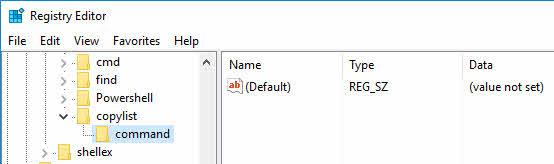 create-file-list-windows-command-key