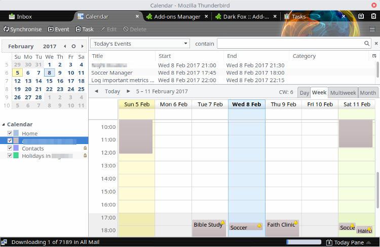 linux-calendar-thunderbird