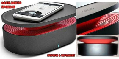 Oaxis Bento Close Contact Induction Speaker – Review and Giveaway