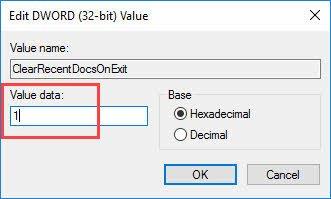 win10-clear-recent-doc-jumplist-enter-value-data