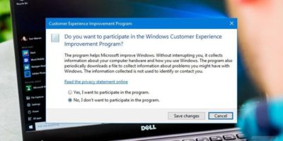 How to Opt Out of the Customer Experience Improvement Program in Windows 10