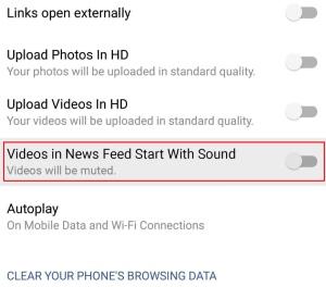 mute-facebook-videos-select