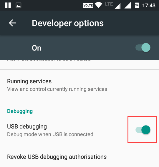 cast-android-screen-to-linux-enable-usb-debugging
