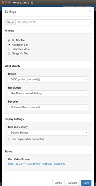 cast-android-screen-to-linux-vysor-settings