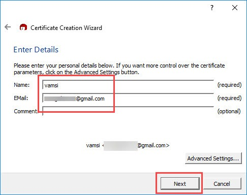 encrypt-emails-outlook-enter-name-and-email