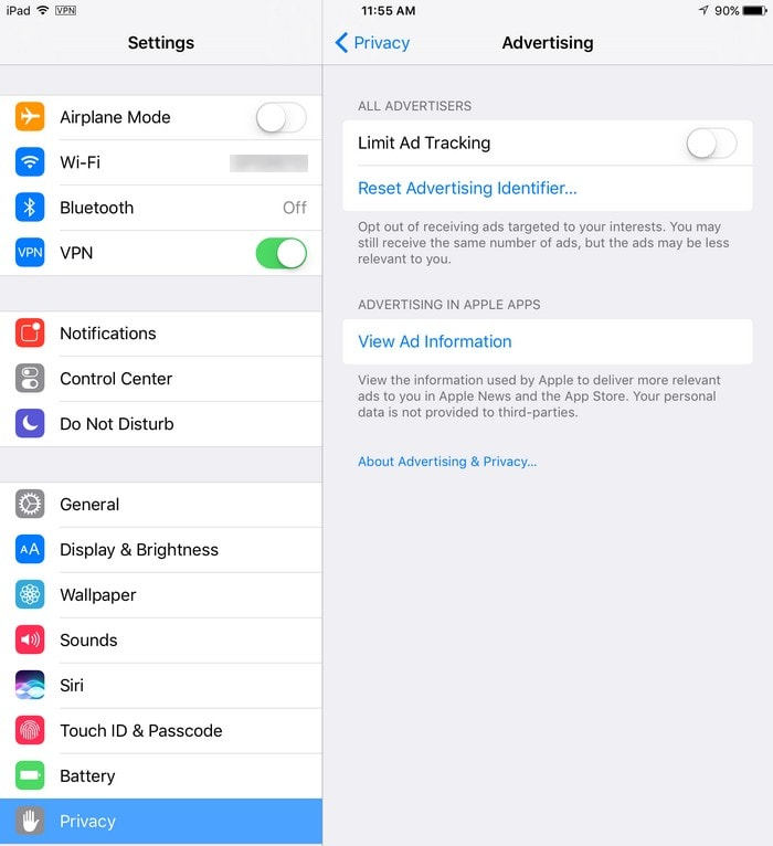 iPad-AdTracking