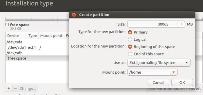 ubuntu-create-mount-point