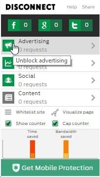 disconnect-chrome-unblock