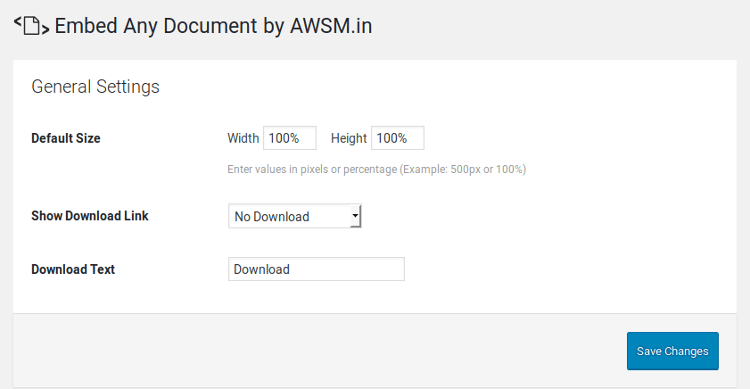 embed-doc-wordpress-settings