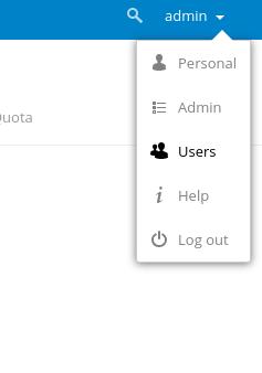 nextcloud-user-menu