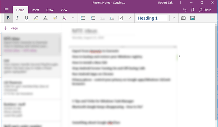 onenote-main-interface