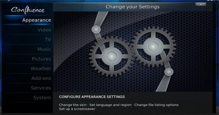 openelec-system-settings