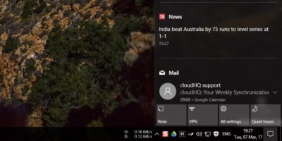 How to Enable or Disable Action Center App Icons in Windows 10
