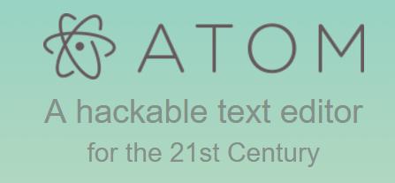 Atom Hackable Text Editor