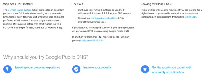 alternative-dns-google-public-dns