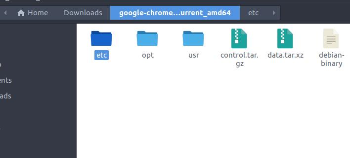 arch-linux-debian-packages-google-chrome