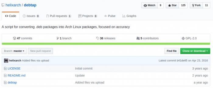 arch-linux-debtap