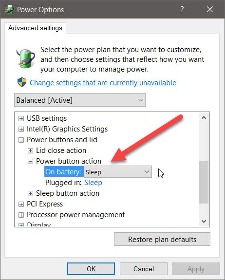 windows10-power-plan-change-power-button-action