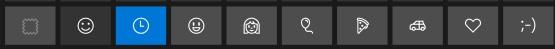 windows-10-emoji-categories