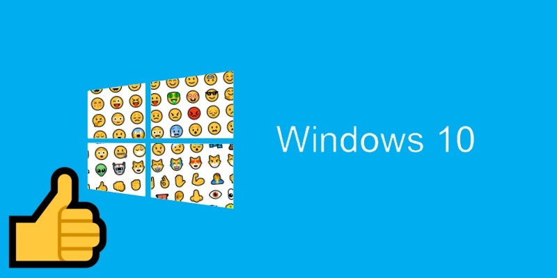 how to use emojis in windows 10