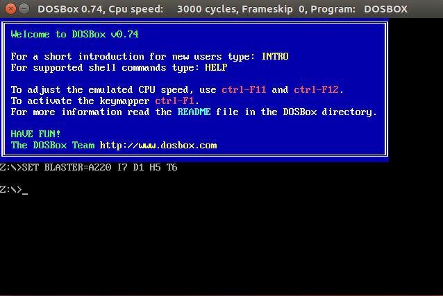 Emulador DOSBox