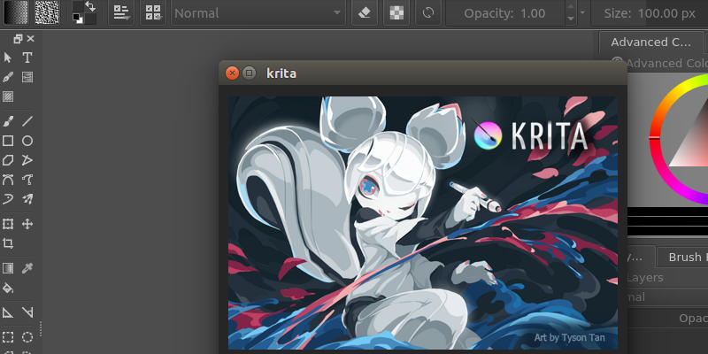 5 of the best image editing software for linux make tech Digital art painting software