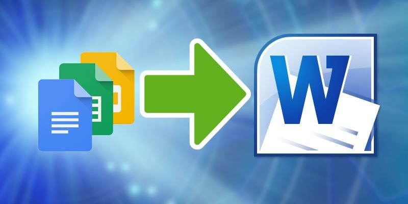 How to Convert from Google Docs to Microsoft Word - Make