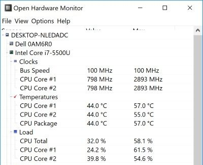 How to Check the Temperature of Your Laptop CPU in Windows