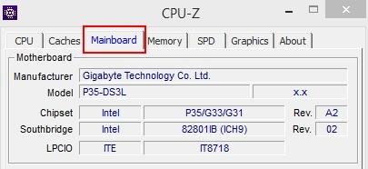 find my motherboard model software