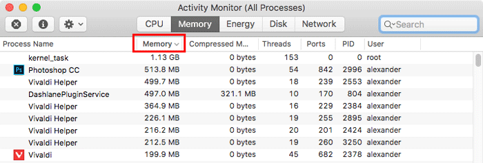 activity-monitor-memory-management