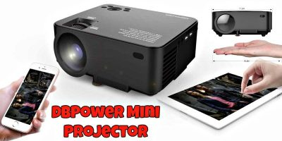 DBPower T20 1500 Lumens LCD Mini Projector – Review and Giveaway