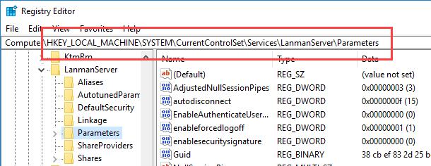 disable-smbv1-navigate-to-key