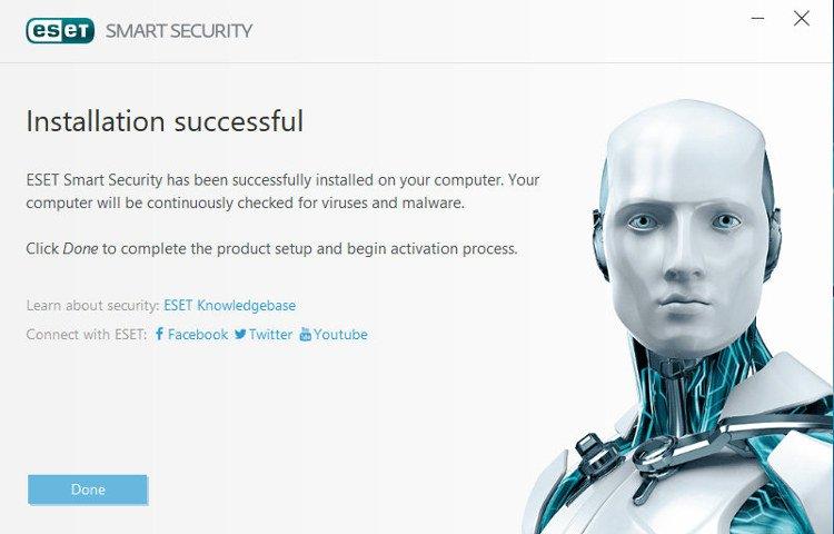 eset-install-successful