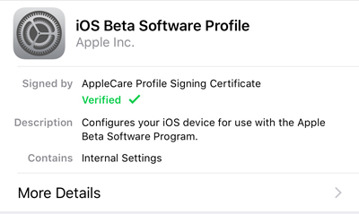 How to Install the iOS 11 Beta Without an Apple Developer Account