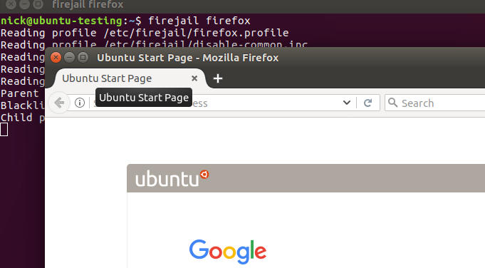 Firejail On Linux