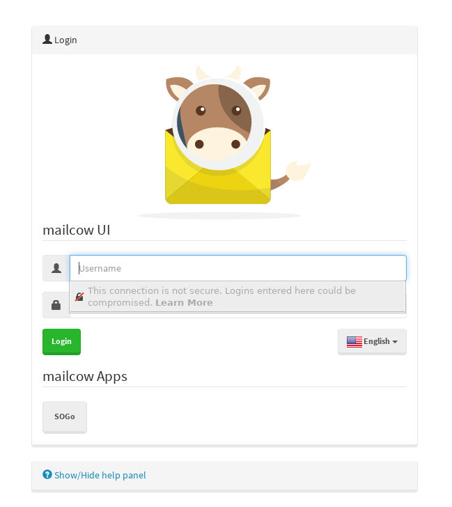 Log In To Mailcow