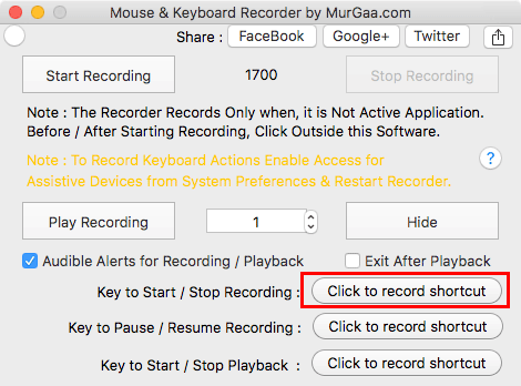 murgaa-recorder-keyboard-shortcut