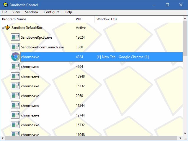Sandboxie windows 10