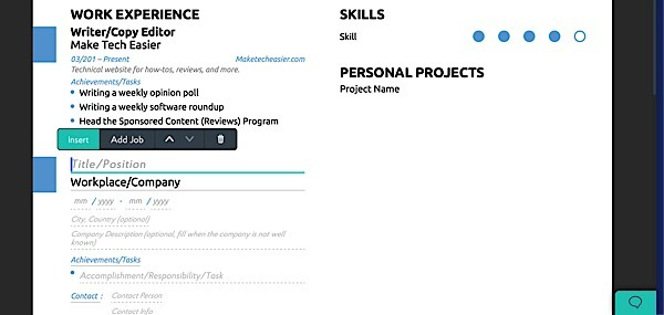 the easy way of doing resumés with novoresume
