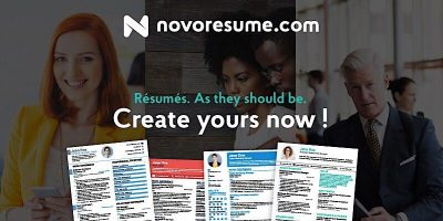 The Easy Way of Doing Résumés, with Novorésumé