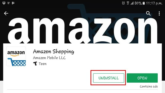 uninstall-amazon