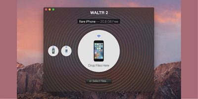Use WALTR 2 to Transfer Files Instead of iTunes