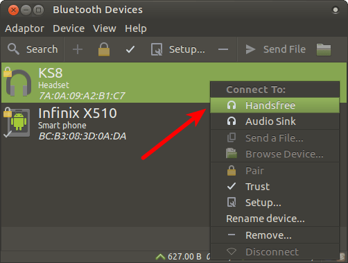 bluetooth-linux-headset