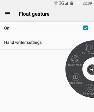 doogee-mix-float-gesture