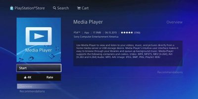 How to Play Media Files on Your PS4