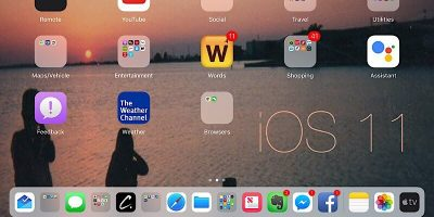 Working with iOS 11 – It's Like a Completely New iPad